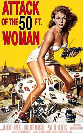 Attack of the 50 Foot Woman 24 x 36 inch Movie Poster