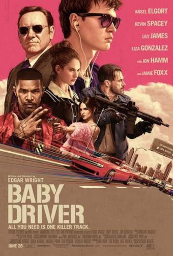 Baby Driver 24 x 36 inch Movie Poster