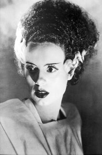 Bride of Frankenstein 24 x 36 inch Black & White Movie Poster