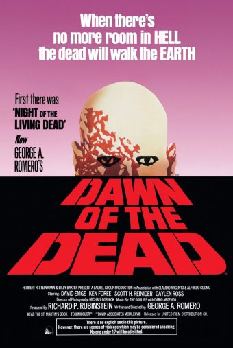 Dawn of the Dead (1978) 24 x 36 inch Movie Poster