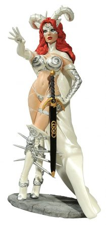 Femme Fatales: Jim Balent's Witch of the Black Rose 2010 Silver Goddess Convention Exclusive Statue