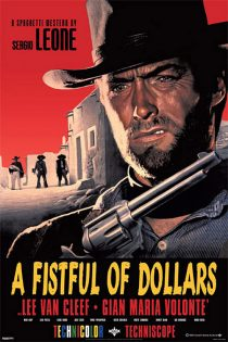 Sergio Leone A Fistful of Dollars Clint Eastwood 24 x 36 inch Movie Poster
