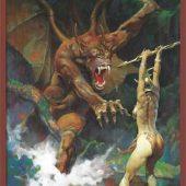 Frank Frazetta Beauty and the Beast 24 x 36 inch Art Poster