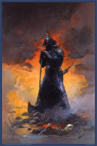 Frank Frazetta Death Dealer Three 24 x 36 inch Fantasy Art Poster