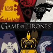 Game of Thrones Sigils 24 x 36 HBO TV Series Poster