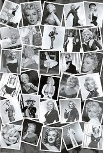Marilyn Monroe Collage Print 24 x 36 Inch Montage Poster