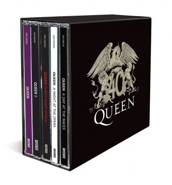 Queen 40th Anniversary Volume One 10-CD Box Set with Bonus Poster