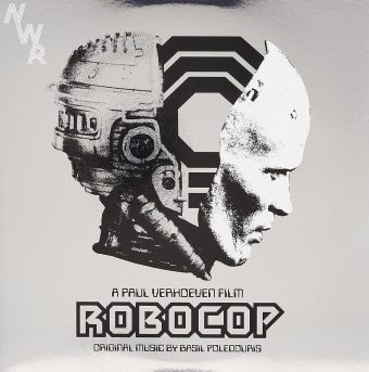 Robocop 2 LP Set-Silver Colored Vinyl, Includes Download Card