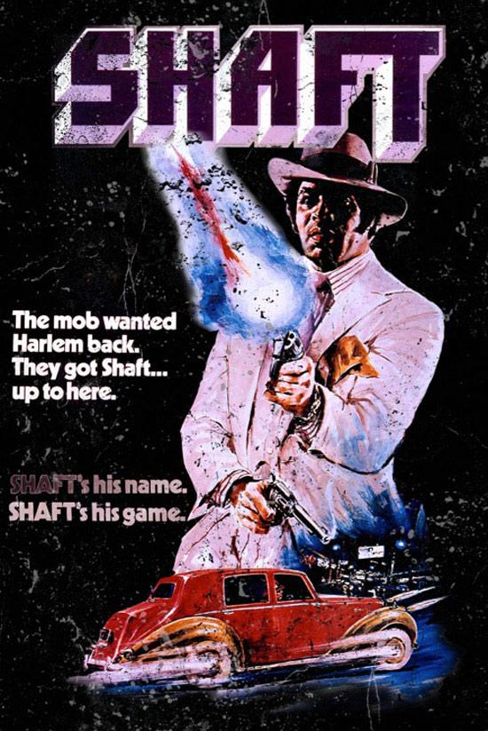 Shaft 24 x 36 inch Movie Poster