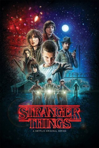Stranger Things 24 x 36 inch TV Series Collage Poster