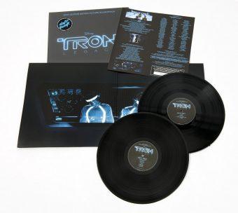 TRON: Legacy Daft Punk 2-LP Vinyl Edition Motion Picture Soundtrack