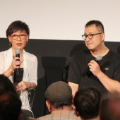 "Raw footage of ""Lady Kung Fu"" Angela Mao Ying interview at Metrograph Theater Hapkido screening in New York City"