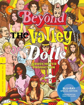 Russ Meyer's Beyond the Valley of the Dolls Blu-ray Special Criterion Collection Edition