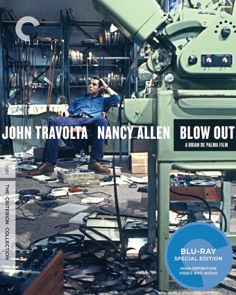 Brian De Palma's Blow Out Criterion Collection Edition Blu-ray