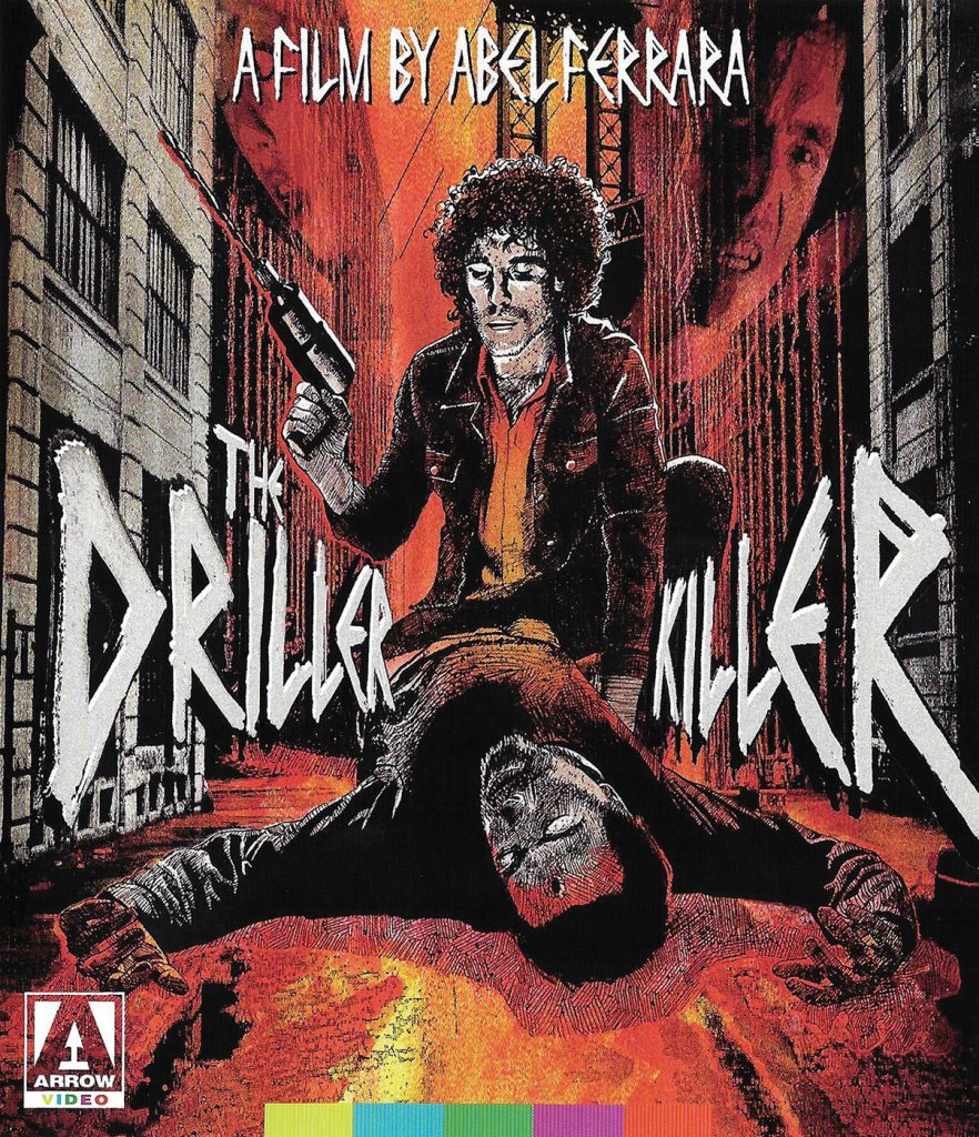 Abel Ferrara's The Driller Killer 2-Disc Arrow Special Edition Blu-ray + DVD