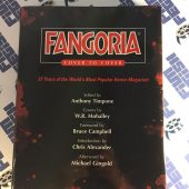 Fangoria Cover to Cover Hardcover Limited Edition Book Signed by Anthony Timpone, artist Basil Gogos, Tom Savini, Frank Henenlotter and many others