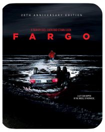 Fargo 20th Anniversary Steelbook Edition Shout Factory – Joel and Ethan Coen