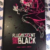 Fluorescent Black Hardcover Graphic Novel Signed by MF Wilson and Nathan Fox + Art Print