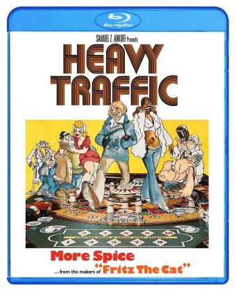 Ralph Bakshi's Heavy Traffic Blu-ray