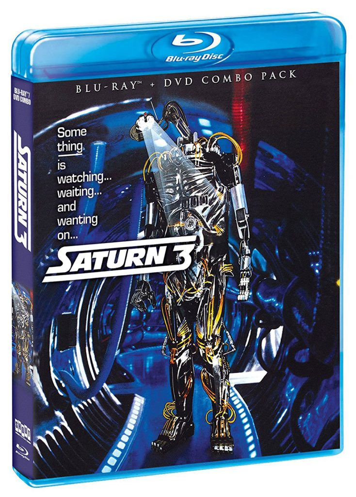Stanley Donen's Saturn 3 Blu-ray + DVD Combo Pack