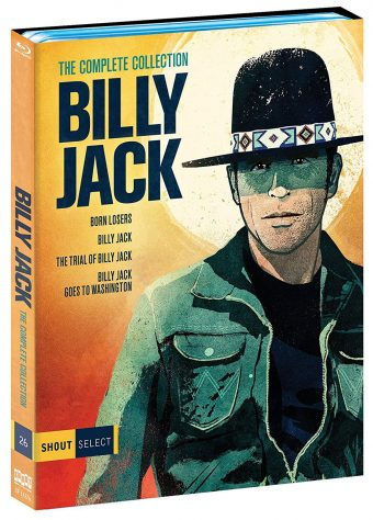 Shout Factory Select Billy Jack: The Complete Collection – The Born Losers, Billy Jack, The Trial of Billy Jack, Billy Jack Goes to Washington