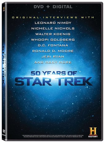 50 Years of Star Trek DVD