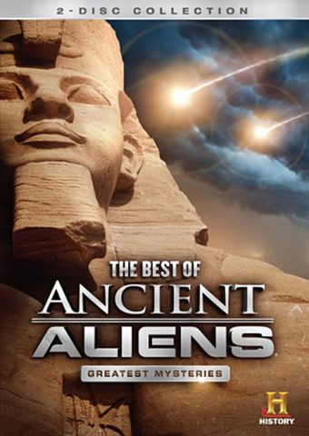 The Best of Ancient Aliens Greatest Mysteries 2-Disc DVD Collection