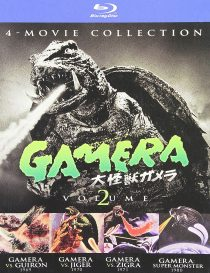 Gamera 4-Movie Ultimate Collection: Volume 2 Blu-ray with Slipcover