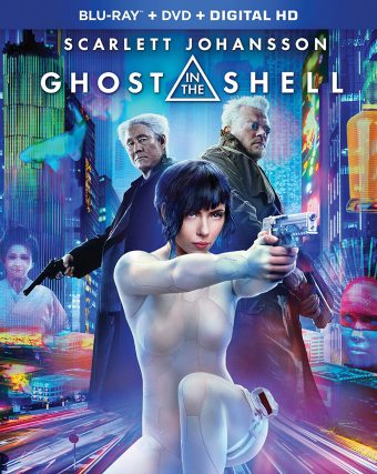 Ghost in the Shell Blu-ray + DVD + Digital HD 2-Disc Edition