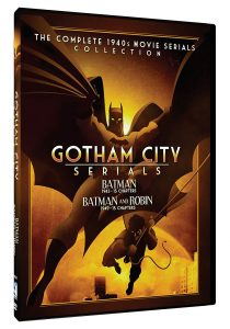 Gotham City Serials: The Complete 1940s Movie Serials Collection – Batman (1943-15 Chapters) Batman & Robin (1949-15 Chapters)