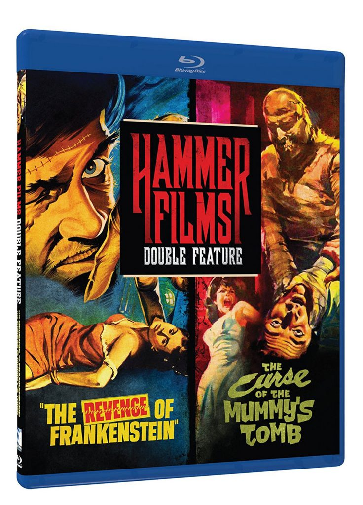 Hammer Films Double Feature: The Revenge of Frankenstein + Curse of the Mummy's Tomb