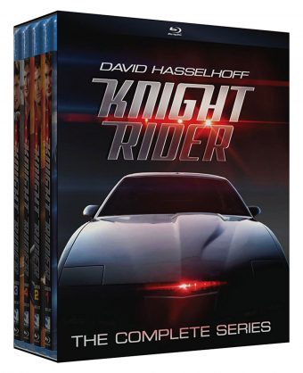 Knight Rider: The Complete Series 16-Disc Blu-ray Box Set Starring David Hasselhoff