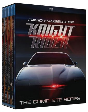Knight Rider: The Complete Series Blu-ray 16-Disc Box Set Starring David Hasselhoff