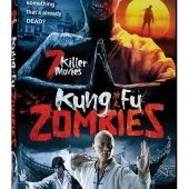 Kung Fu Zombies 7 Movie Collection DVD Set