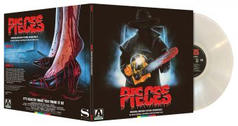 Pieces: Original Motion Picture Soundtrack Limited Edition Illustrated Jacket Clear Vinyl
