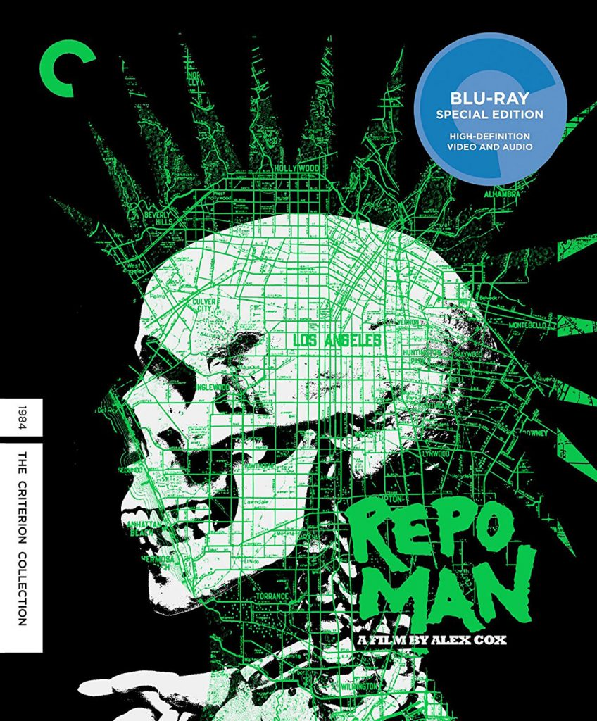 Repo Man Criterion Collection Director Approved Blu-ray