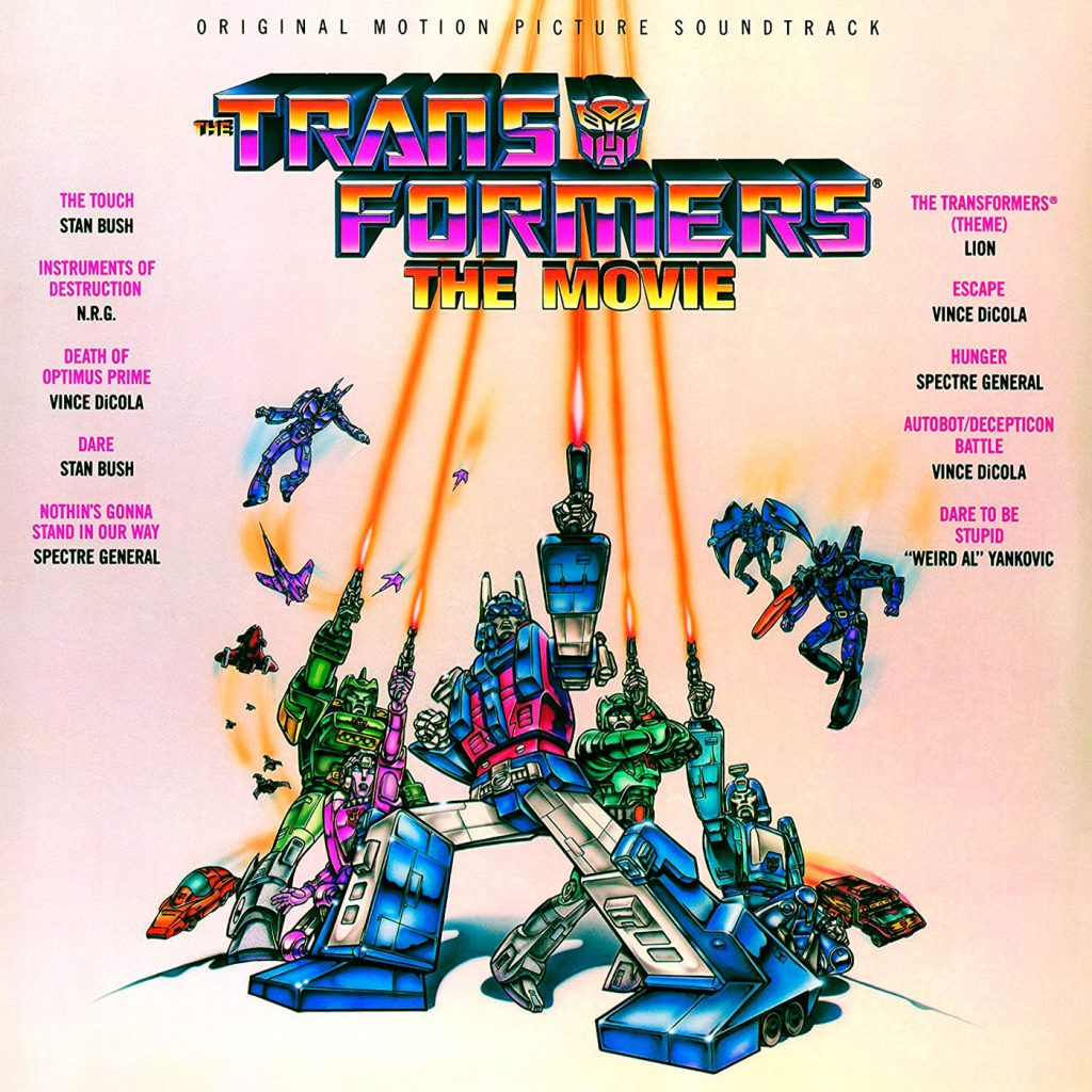 The Transformers: The Movie (1986) Original Motion Picture Soundtrack Limited Vinyl Edition