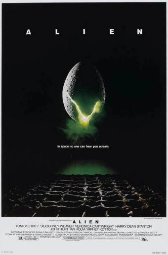 Ridley Scott's Alien 24 x 36 Inch Movie Poster