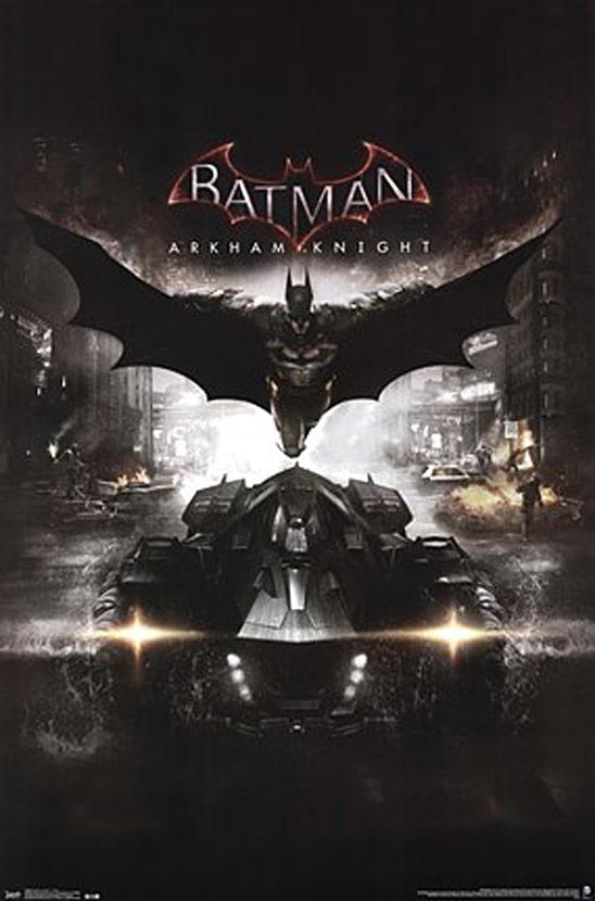 Batman: Arkham Knight 22 x 34 Inch Cover Poster