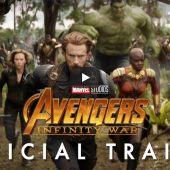 Marvel unveils first trailer for Avengers: Infinity War