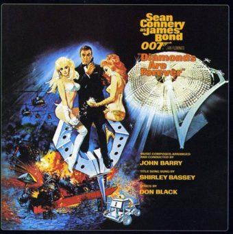Diamonds Are Forever Original Soundtrack Album Remastered Music by John Barry