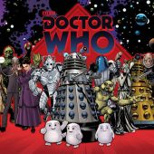 Doctor Who Character Compilation 36 x 24 Inch Poster