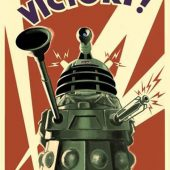 Doctor Who – Victory of the Daleks 24 x 36 Inch Propaganda-Style BBC Television Series Poster