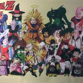 Dragonball Z 36 x 24 Inch Character Poster