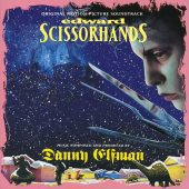 Tim Burton's Edward Scissorhands Original Motion Picture Soundtrack Album Music by Danny Elfman
