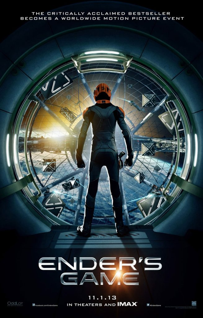Ender's Game 24 x 36 Inch Teaser Movie Poster