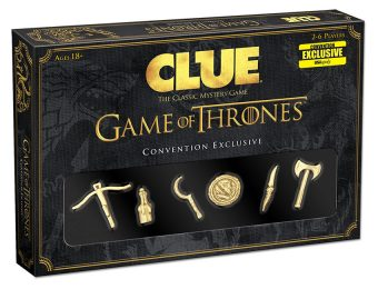 CLUE: Game of Thrones Convention Exclusive Edition Expansion