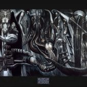 H.R. Giger Museum Anima Mia 36 x 24 Inch Poster
