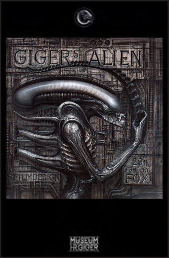 Giger Museum 24 x 36 Inch Alien Poster