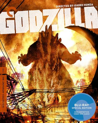 Ishiro Honda's Godzilla Blu-ray Special Edition – The Criterion Collection [Cover Art by Bill Sienkiewicz]